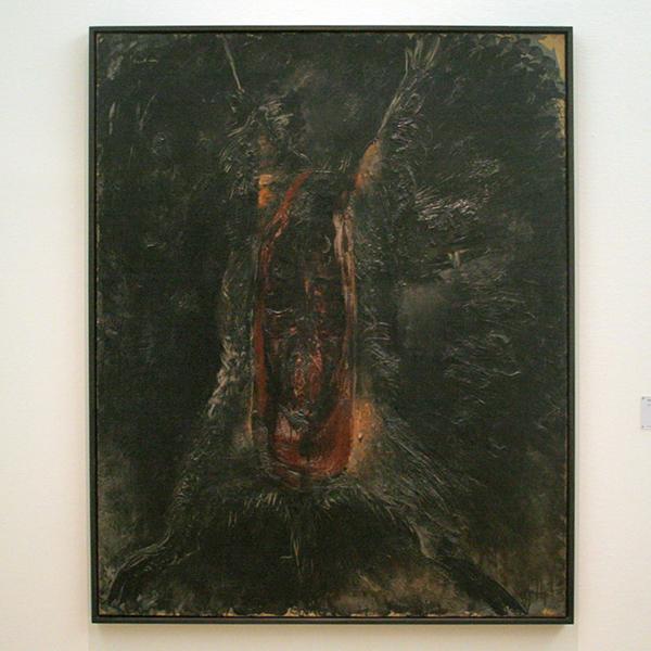 Jean Fautrier - Le Sanglier Ecorche