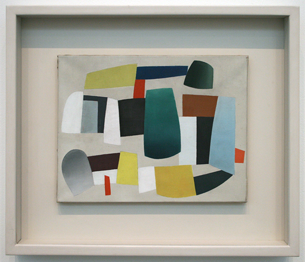 Jean Helion - Abstract Composition - Olieverf op canvas