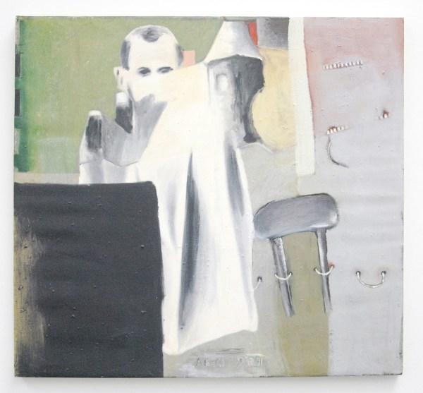 Jean-Michel Alberola - Celui qui figure - Olieverf op doek