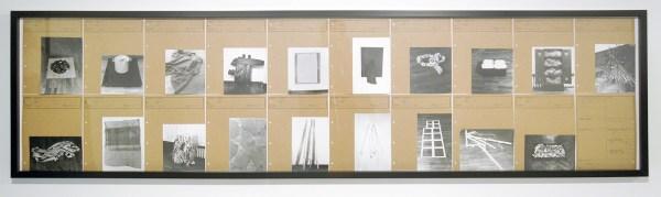 Jean Schwind - Collection Schwind II - Arte Povera - 1971-72 (Na de privetentoonstelling in 1971 werden alle werken vernietigd)