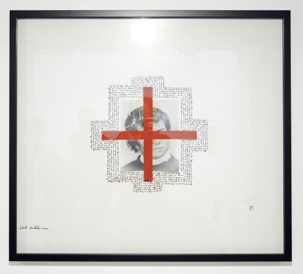 Jean Schwind - Zero zelatus sum (Hommage a Boltanksi) - 1971