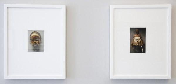Jeremy Millar - Masked Self-Portrait (1 & 2) - Kleurenfoto