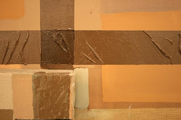 Jochem Muhlenbrink - Bilder Einer Ausstellung (Triptychon) - drieluik, 220x280cm Olieverf op doek (detail)