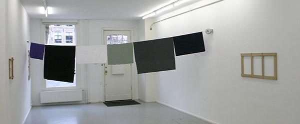 Joe Scalan - Ides - 220x493cm Chintz, rayon, linnen, katoen, poplin op vintage indoor waslijn