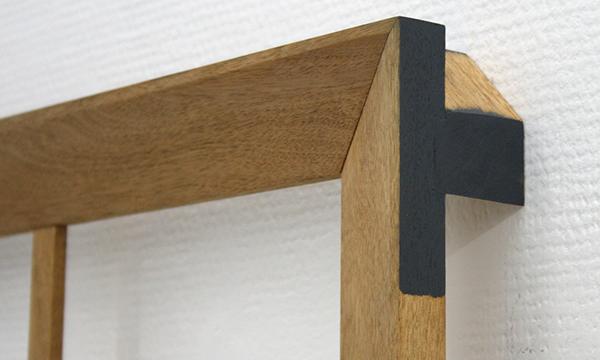 Joe Scalan - SL - 48x47x6cm Olieverf op hout