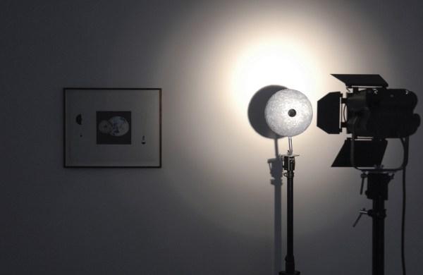 Johan Zetterquist - Proposal No 9, Hole Through the Moon - Mixed Media
