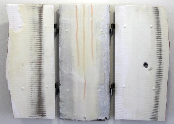 John O'Carrol - Shiva - 76x105cm Encaustiek op panelen
