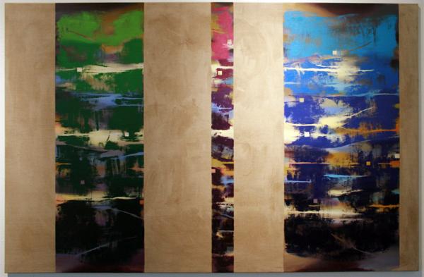 Joris Geurts - Zonder Titel - 160x220cm Olieverf en acrylverf op linnen