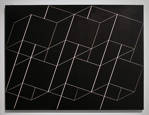 Josef Albers - Structural Constellation - Gravure in Formica en hout
