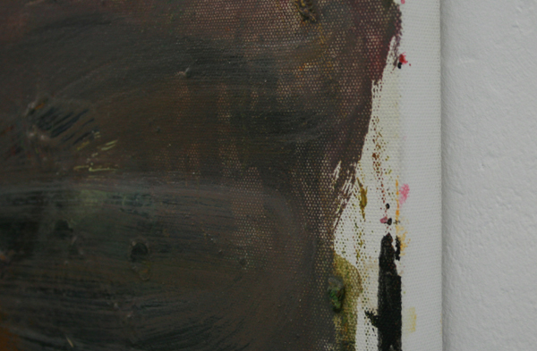 Josh Smith - Untitleds (Palette Paintings) - 51x41cm & 61x26cm Olieverf op canvas_2 (detail)