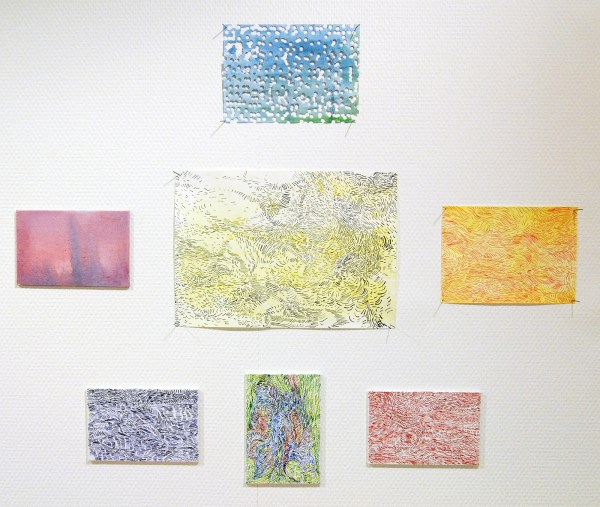 Josine Timmer - Zonder Titels - Aquarel en inkt op papier en canvas
