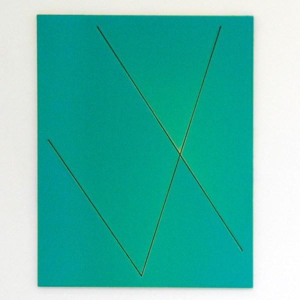 Just Quist - Untitled - 60x78cm Acrylverf en epoxe op paneel