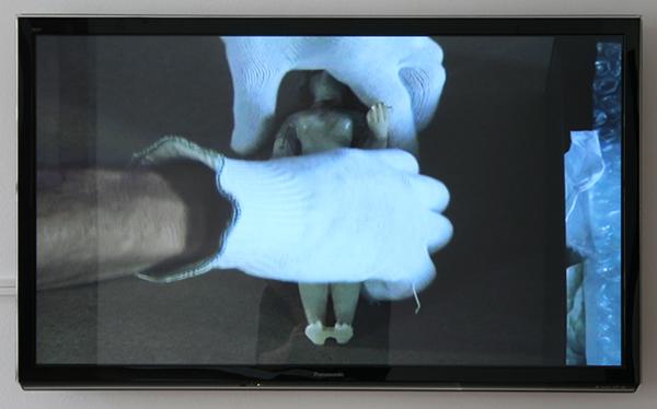 Kamer 6, Jean-Luc Moulene - Le Monde, Le Louvre - Video