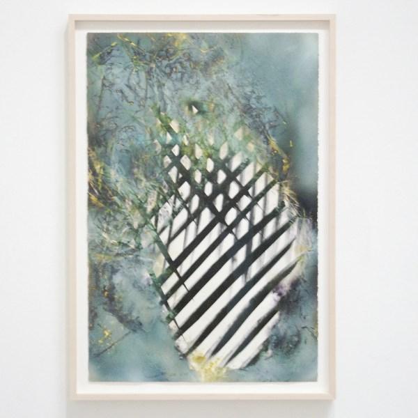 Katharina Grosse - Zonder Titel - Acrylverf op papier