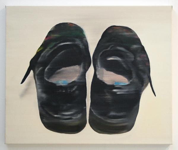 Katinka Lampe - Untitled (506013) - 50x60cm Olieverf op canvas