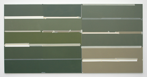 Kees Goudzwaard - Collected - 125x250cm Olieverf op canvas