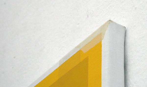 Kees Goudzwaard - Illuminated - 150x120cm Olieverf op doek (detail)
