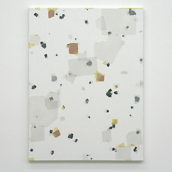 Kees Goudzwaard - Parts Of Fragments - 80x60cm Olieverf op canvas