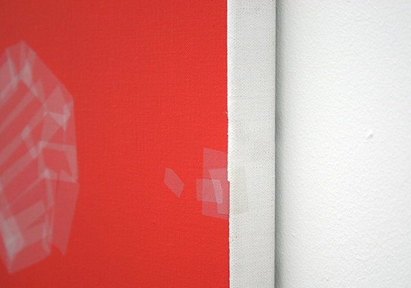 Kees Goudzwaard - Target Point - 50x40cm Olieverf op canvas (detail)