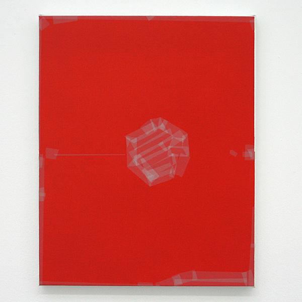 Kees Goudzwaard - Target Point - 50x40cm Olieverf op canvas