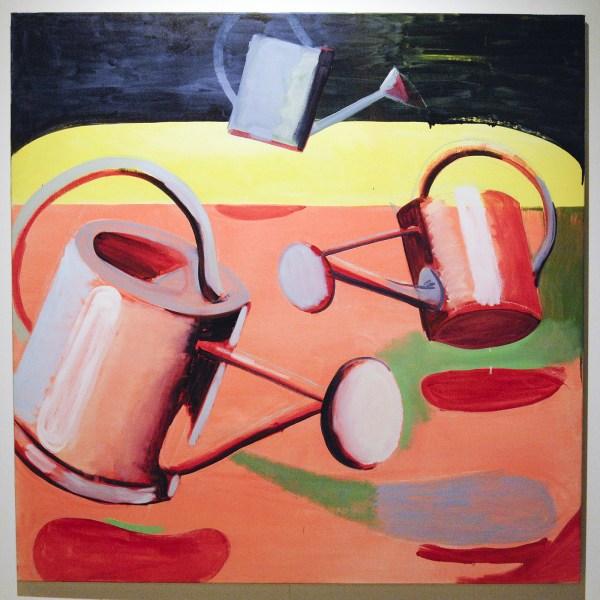 Ken Verhoeven - Drie Gieters - 180x180cm Olieverf op canvas