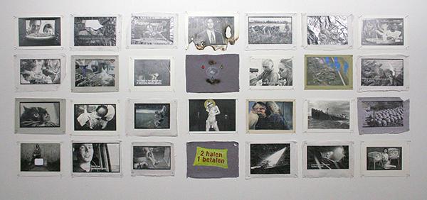 Kim Hospers - Entertain Us II - 30x20cm Mixed Media op papier