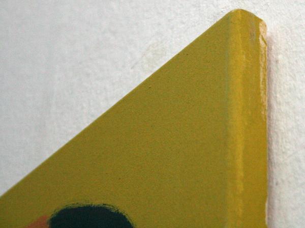 Kim van Norren - And the Bridges Break Up In the Panic of Loss - 140x160cm Acrylverf op doek (detail)