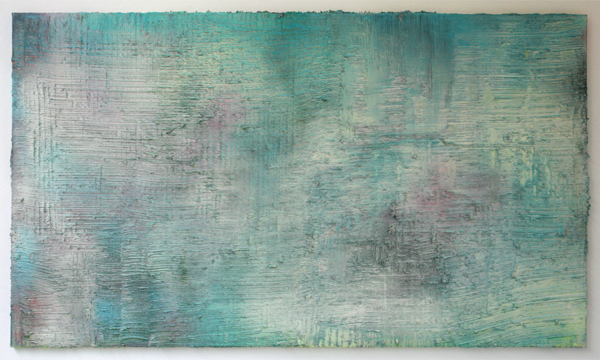 Koen Delaere - Untitled - 110x190cm Olieverf en spuitbus op canvas