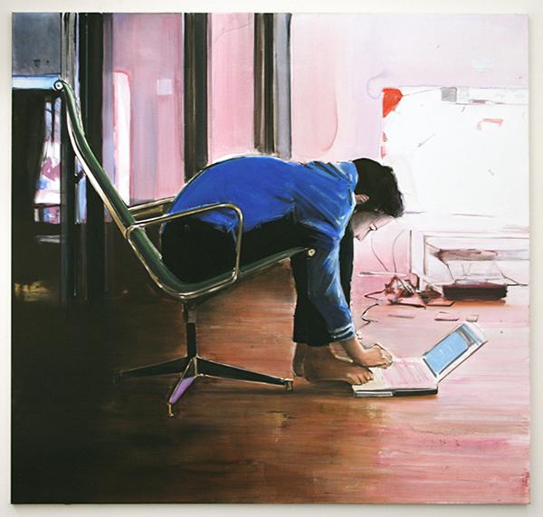 Koen Vermeule - Buzz - 180x190cm Olieverf op canvas