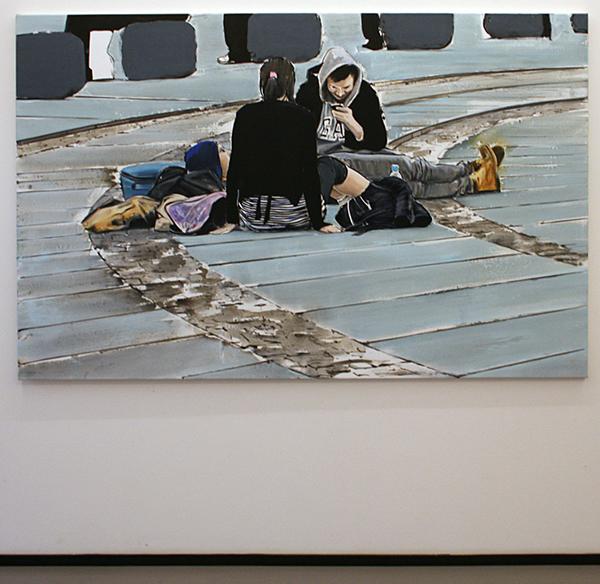 Koen Vermeule - Stachus - 135x210cm Olieverf op canvas