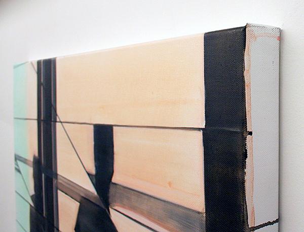 Koen Vermeule - The Arrival - 120x130cm Olieverf op canvas (detail)