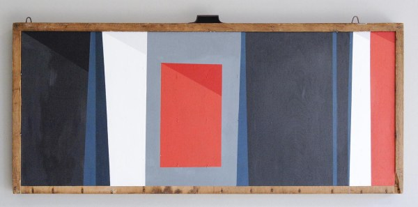 Lennard Schuurmans - Swin and Sleep - 36x82cm Acrylverf op hout