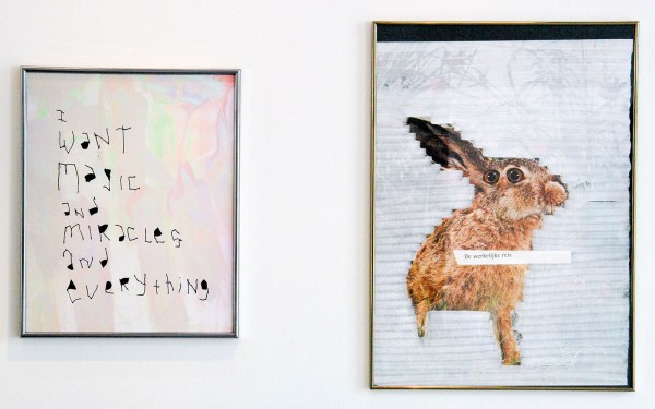 Lieven Segers - I Want Magic and Miracles and Everything - 40x50cm Prent & De Werkelijke Reis - 50x70cm Prent