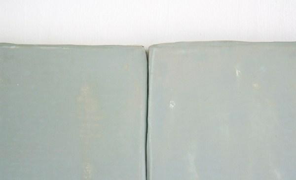 Loek Grootjans - Serie van vijf schilderijen - Acryl en muurschraapsel op linnen (detail)