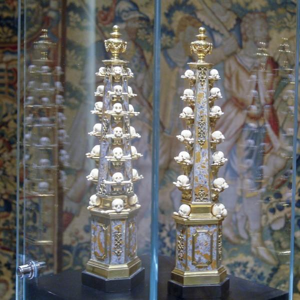 Longari Arte - Paar obelisken, laat 17e eeuw
