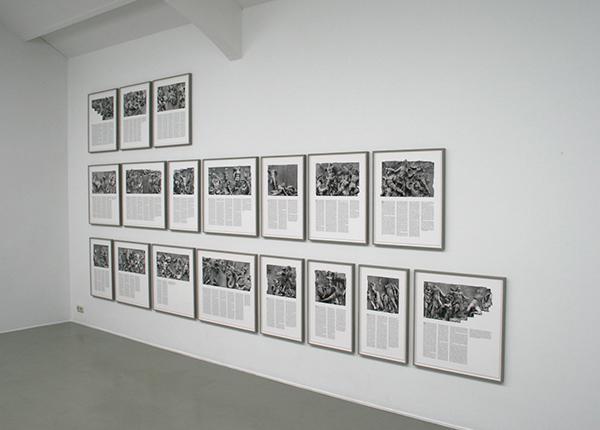 Lonnie van Brummelen & Siebren de Haan - Wit Dazzled Epigonos - 68x42cm en 68x73cm Iktjet prints op papier, notities op afbeeldingen