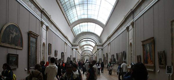Louvre overzicht