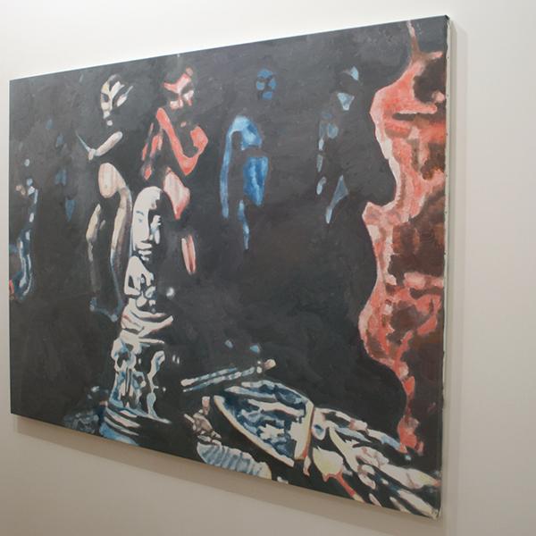 Luc Tuymans - Allo VI - 140x190cm Olieverf op canvas