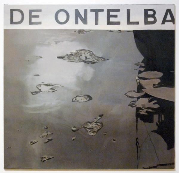 Luc Tuymans - De Ontelbaren - Olieverf op doek 1987