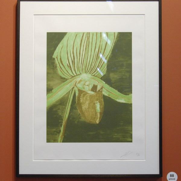 Luc Tuymans - Orchid - Zeefdruk (oplage 80) €3500,-