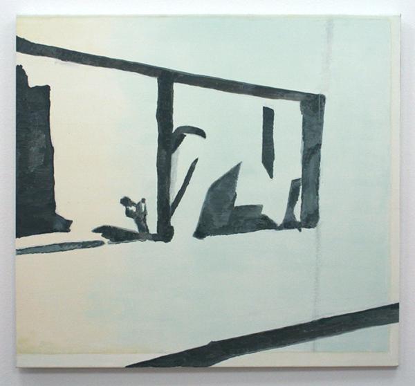 Luc Tuymans - Recherches - Olieverf op doek