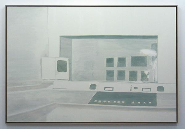 Luc Tuymans - Studio - Olieverf op doek