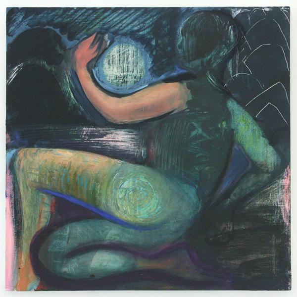 Lucy Stein - Psyche - 50x50cm Olieverf op paneel