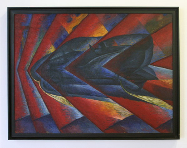 Luigi Russolo - Automobile in Corsa