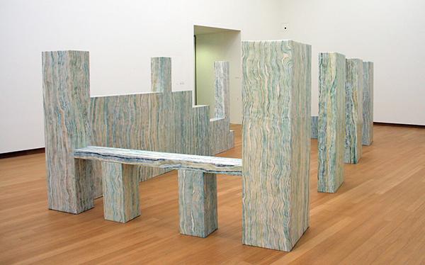 Luxy McKenzie - Loos House - Olieverf op doek op hout