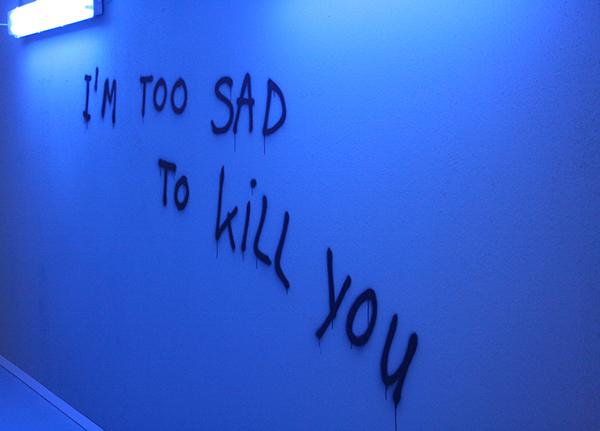 Marc Bijl - I Am Too Sad To Kill You - Spuitbus