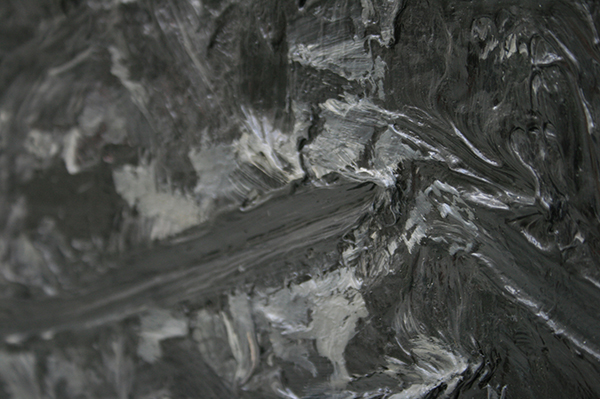 Marc Mulders - Bloemen Maesta nr 1 - Olieverf op doek (detail)