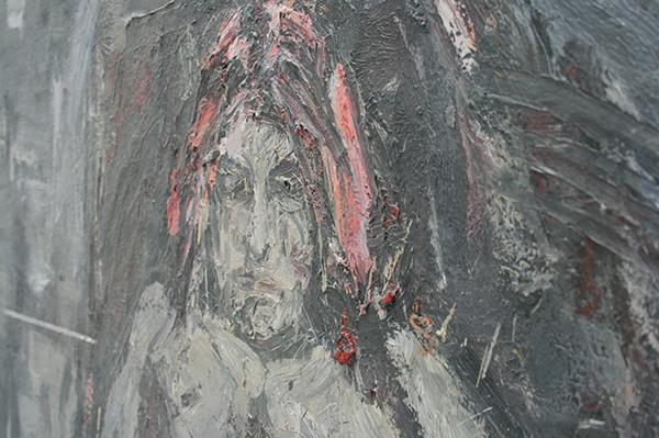 Marc Mulders - Ecce Homo - Olieverf op doek (detail)