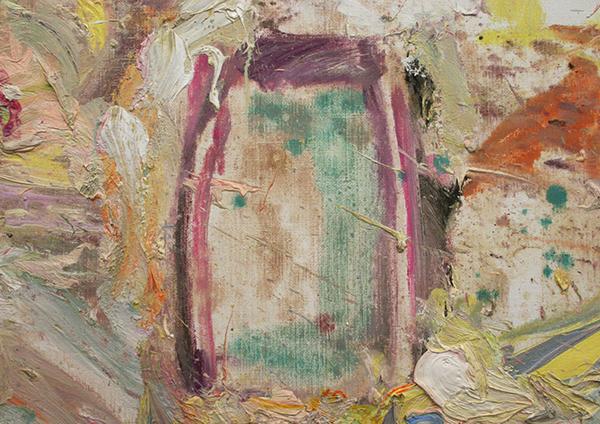 Marc Mulders - Le Jardin d'eau - 110x290cm Olieverf op doek (detail)_2