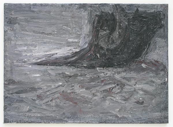 Marc Mulders - Stierenkop III - Olieverf op doek
